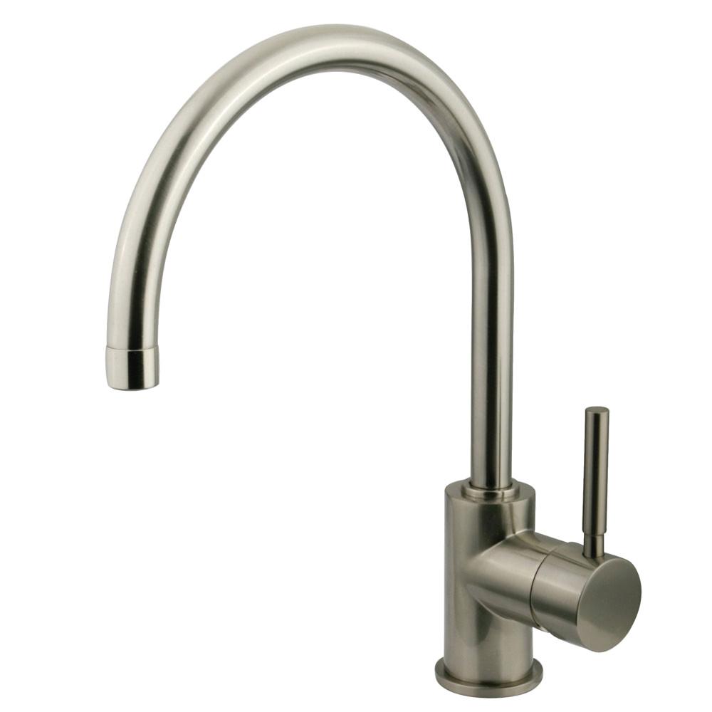 Kingston Brass KS8238DL Vessel Sink Faucet, Brushed Nickel ...