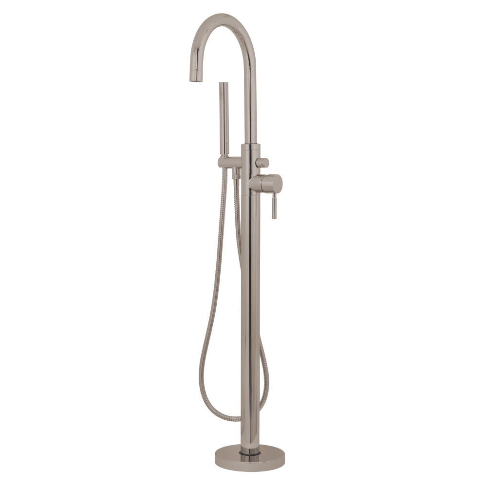 Kingston Brass KS8158DL Concord Floor Mount Tub Filler with Hand ...