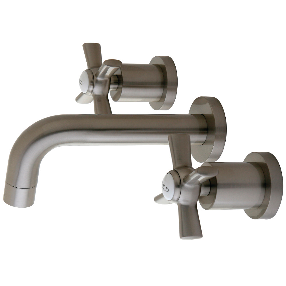Kingston Brass KS8128ZX Vessel Sink Faucet, Satin Nickel