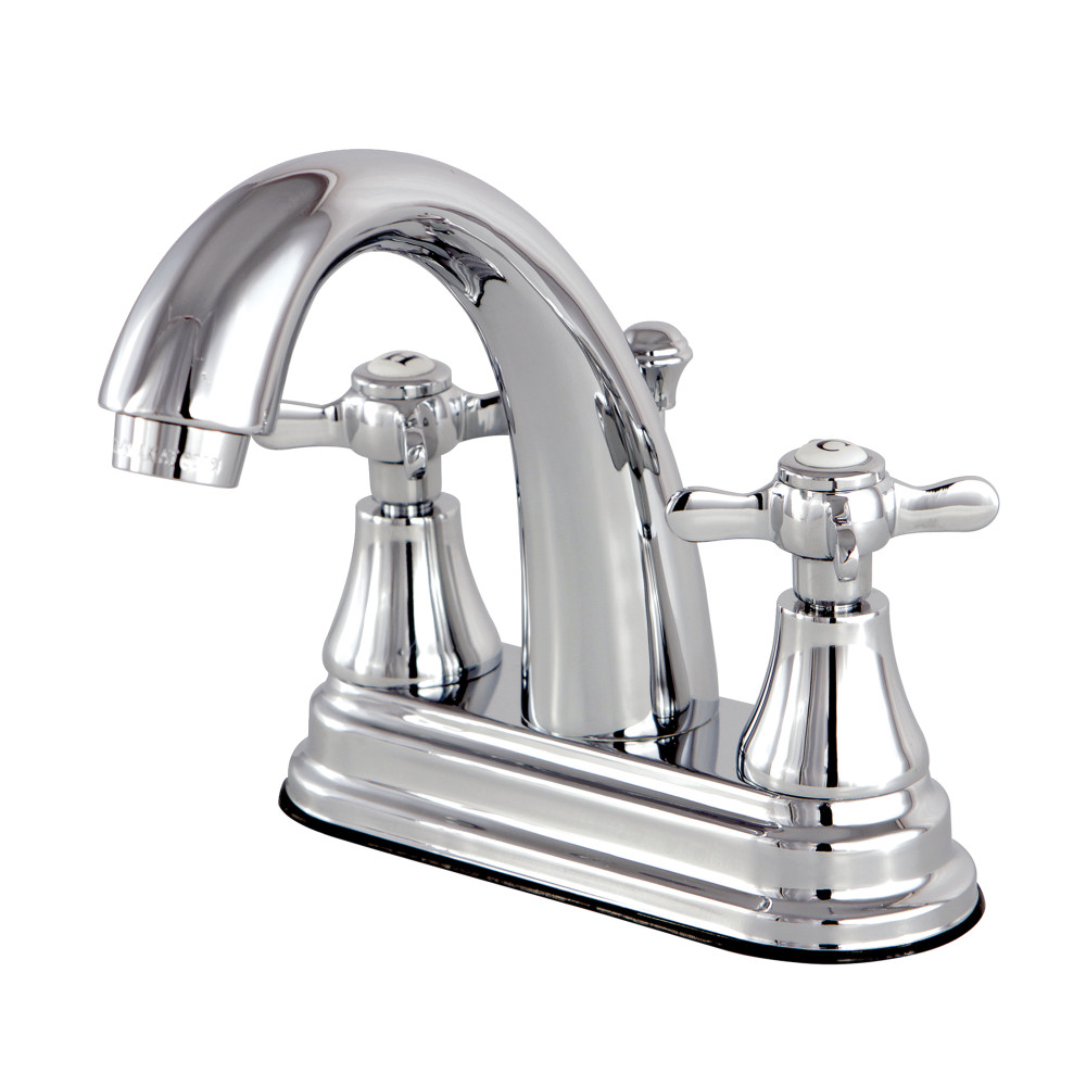Kingston Brass Ks7611bex 4 Inch Centerset Lavatory Faucet Polished Chrome Kingston Brass