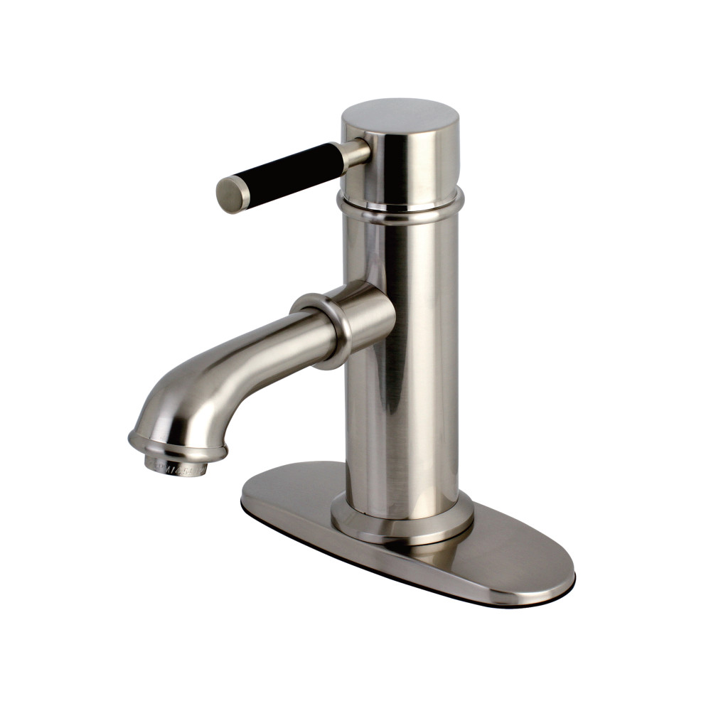 Kingston Brass KS7418DKL Kaiser Single Handle Lavatory Faucet ...