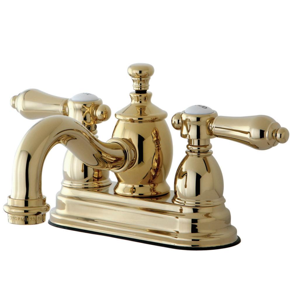 Kingston Brass KS7102BAL Belair 4-Inch Centerset Lavatory Faucet ...