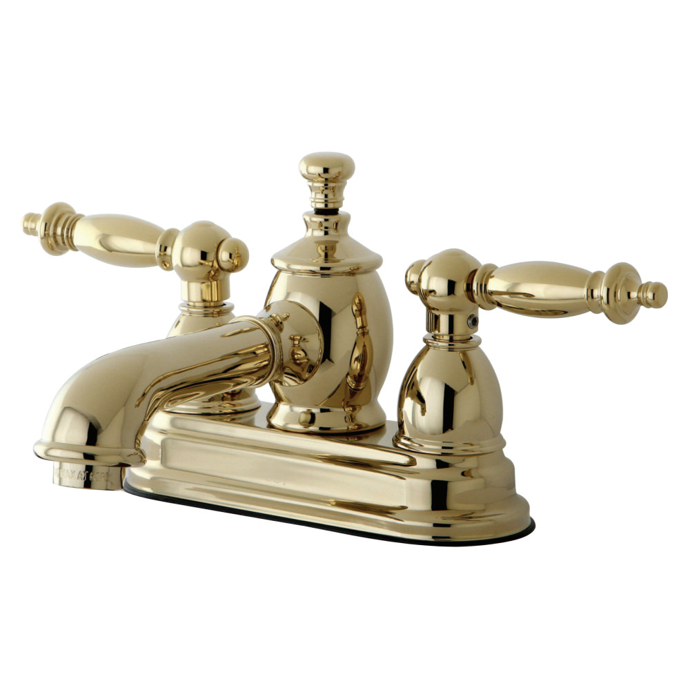Kingston Brass Ks7002tl Templeton 4 Inch Centerset Lavatory Faucet With Brass Pop Up Polished