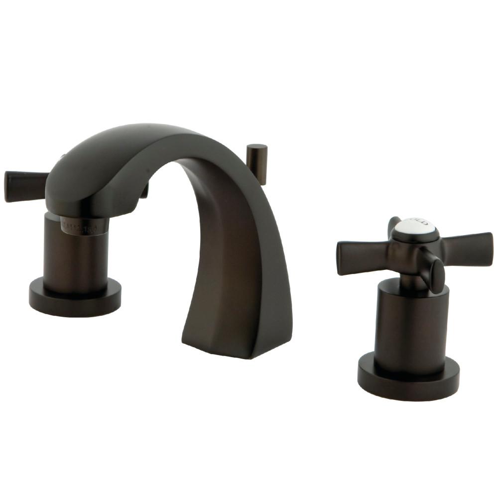Kingston Brass KS4985ZX Widespread Lavatory Faucet, Oil Rubbed ...