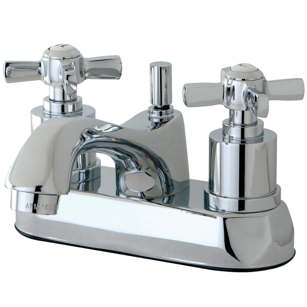 Kingston Brass Ks4261zx 4 Centerset Lavatory Faucet Polished Chrome Kingston Brass