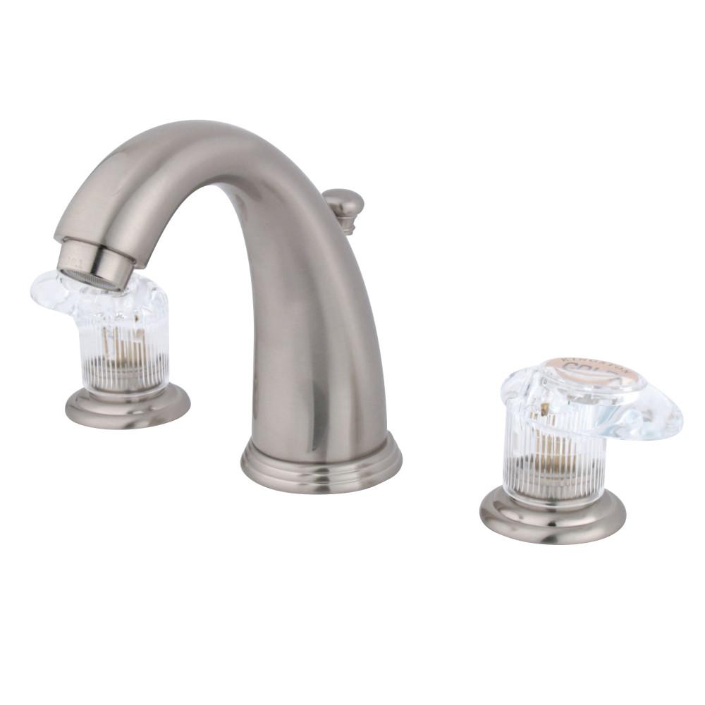 Brushed Brass Bathroom Faucets: Kingston Brass KB988ALL Magellan Widespread Lavatory