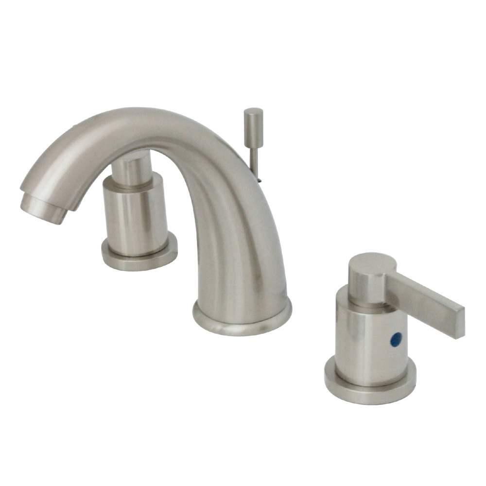 Kingston Brass KB8988NDL NuvoFusion Widespread Lavatory Faucet with ...