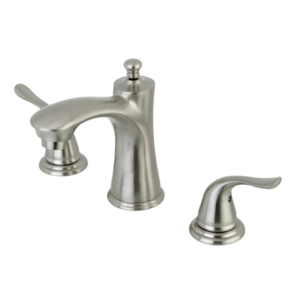 Kingston Brass Kb7968yl 8 Inch Widespread Lavatory Faucet Brushed Nickel Kingston Brass
