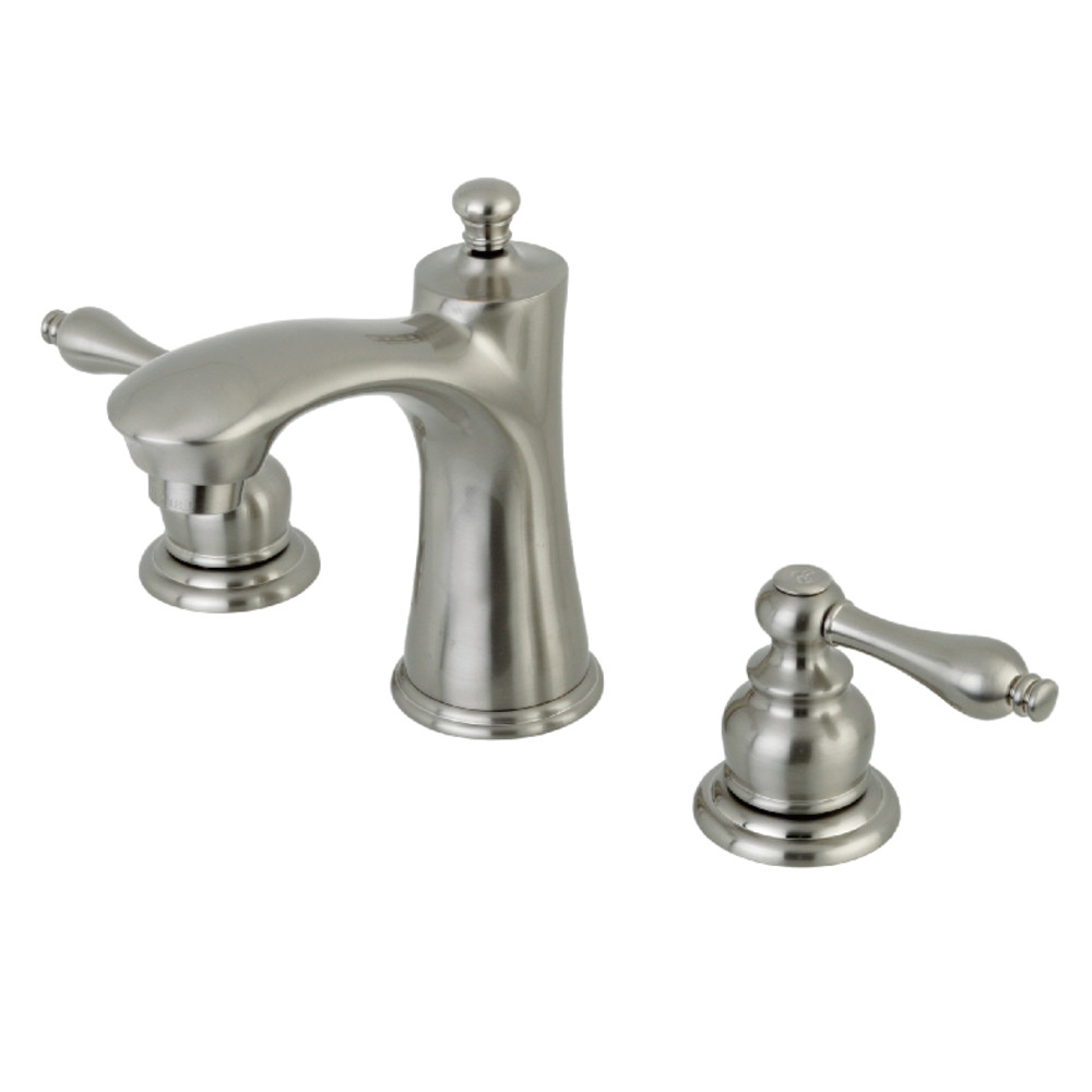 Kingston Brass KB7968AL 8-Inch Widespread Lavatory Faucet, Brushed ...