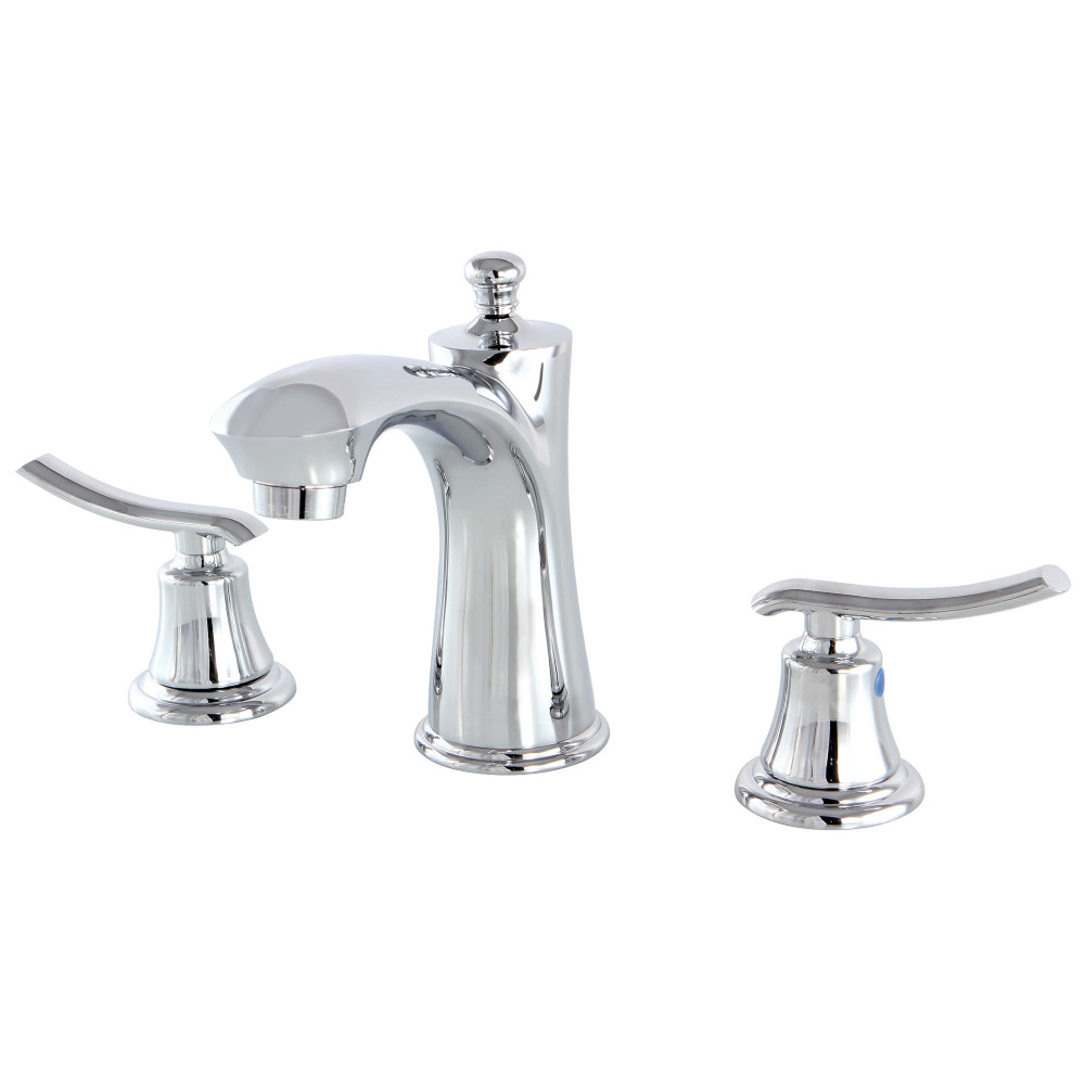 Kingston Brass Kb7961jl 8 Inch Widespread Lavatory Faucet Polished Chrome Kingston Brass