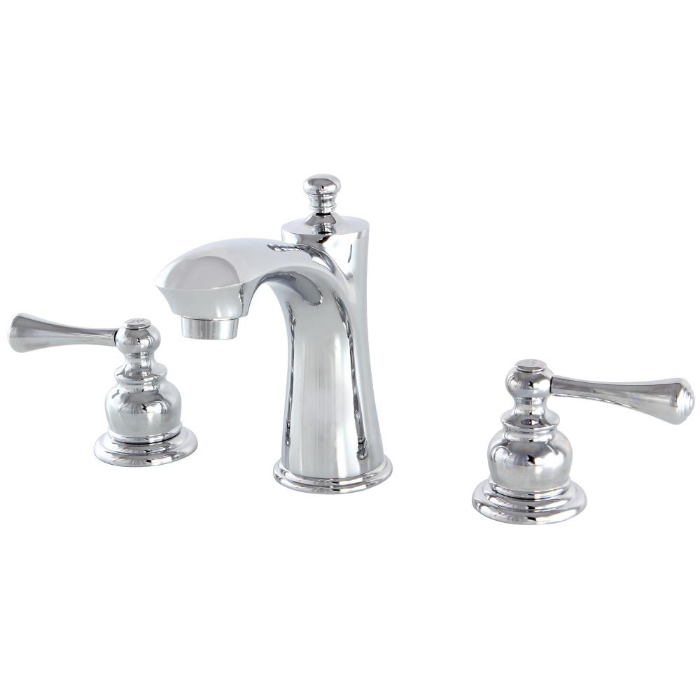 Kingston Brass Kb7961bl Vintage Widespread Lavatory Faucet Polished Chrome Kingston Brass