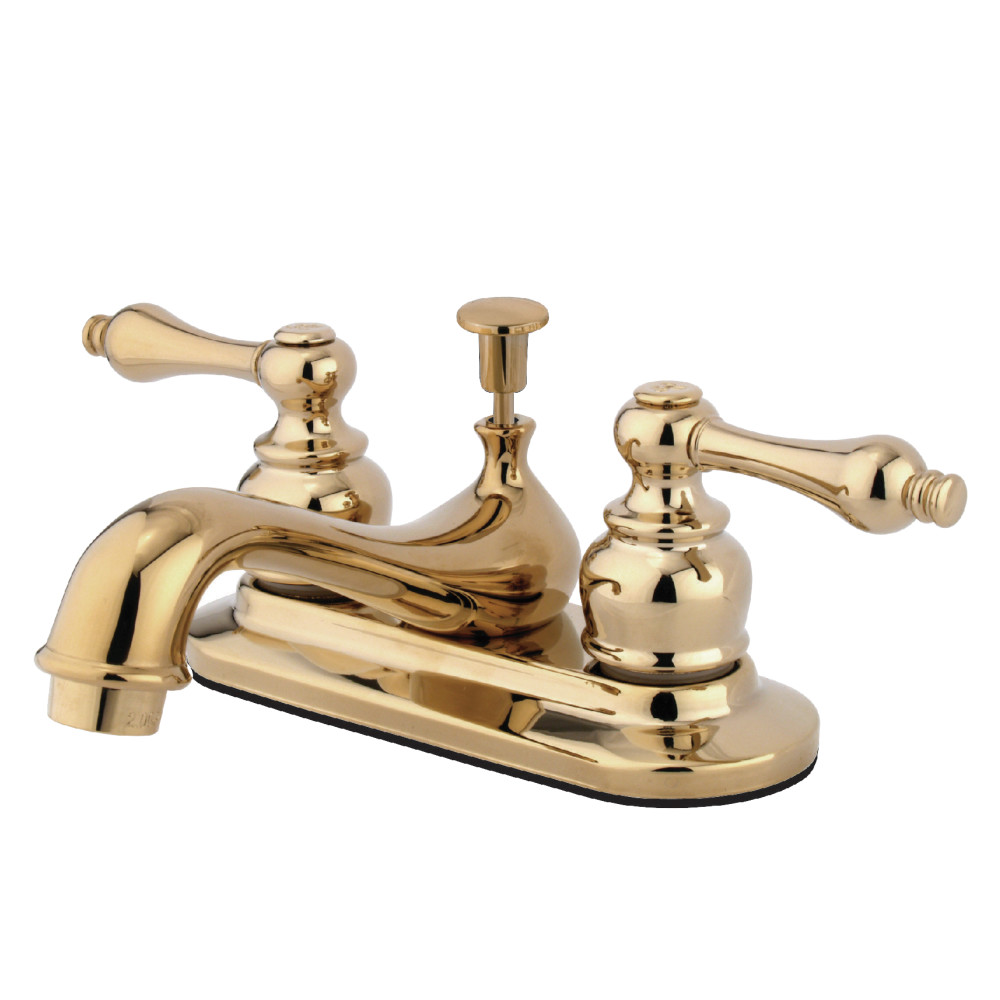 Kingston Brass KB602AL Restoration Lavatory Faucet with Retail Pop ...