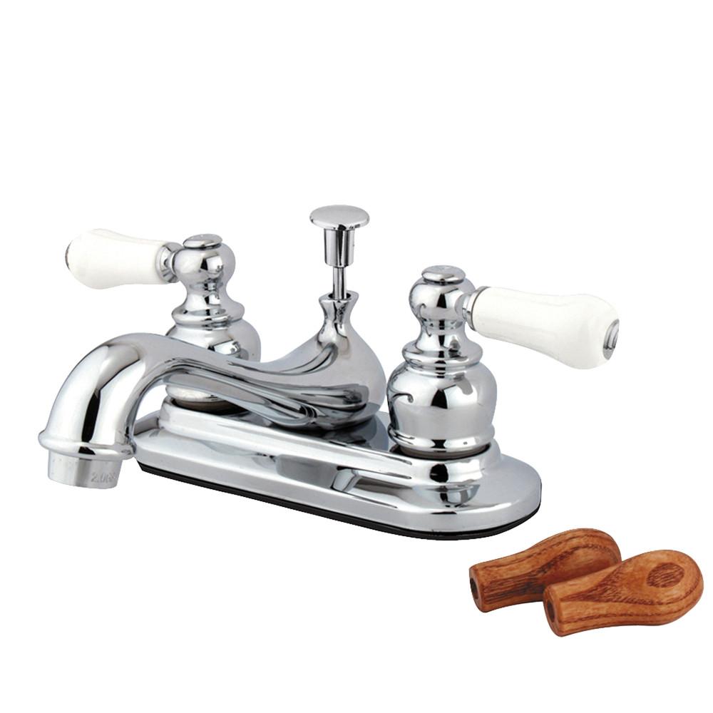 Kingston Brass KB601B Restoration Lavatory Faucet with Pop-Up ...