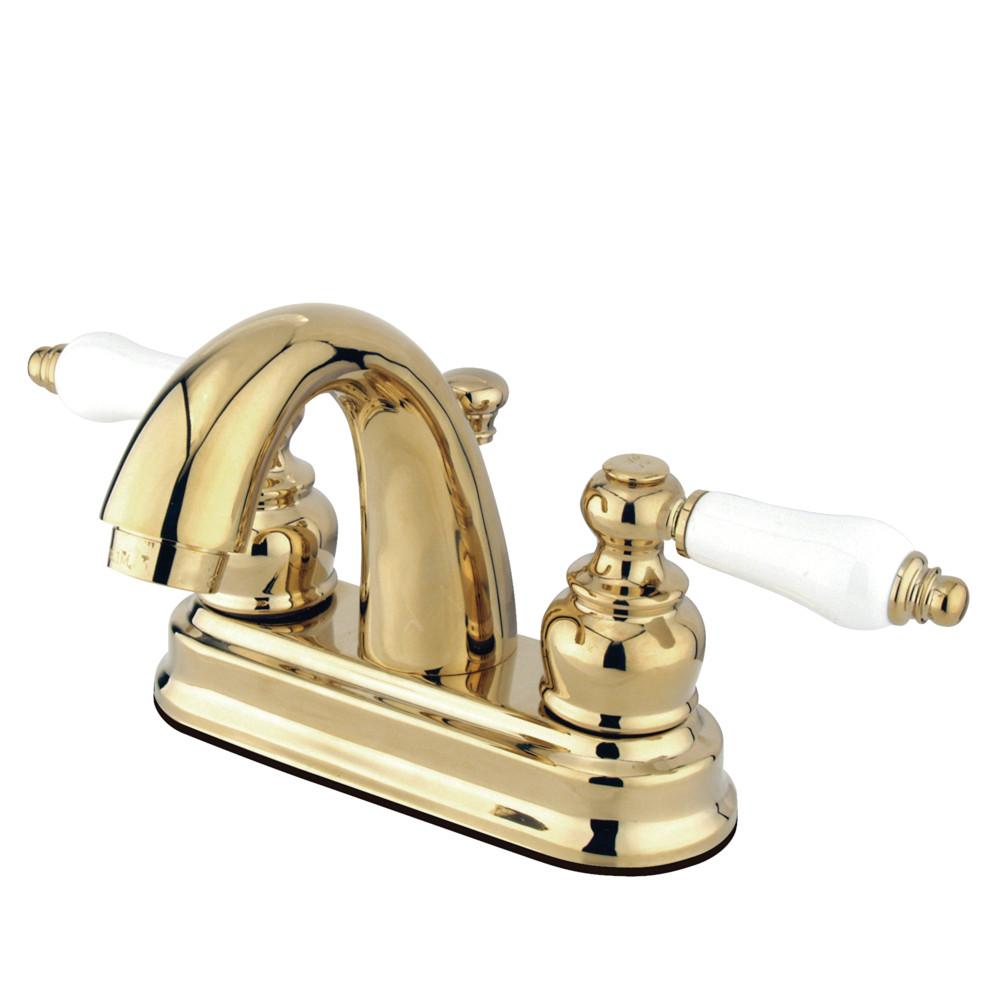 Kingston Brass KB5612PL Restoration Lavatory Faucet with Retail Pop ...