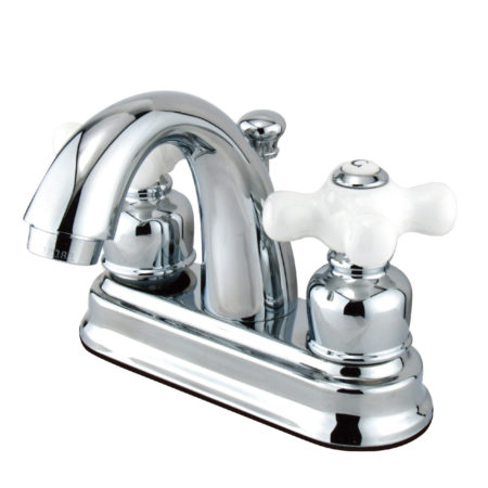 Kingston Brass KB5611PX Restoration Lavatory Faucet with  Retail Pop-Up, Chrome