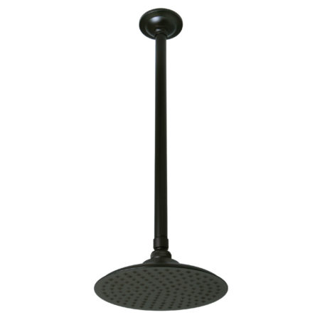 "Kingston Brass K236K25 Victorian Shower Head With 17"" Ceiling Mounted Shower Arm, Oil Rubbed Bronze"