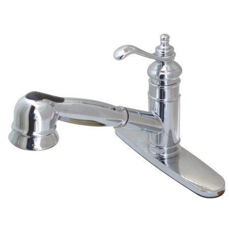 Gourmetier GS7571TL Templeton Pull-Out Kitchen Faucet, Chrome