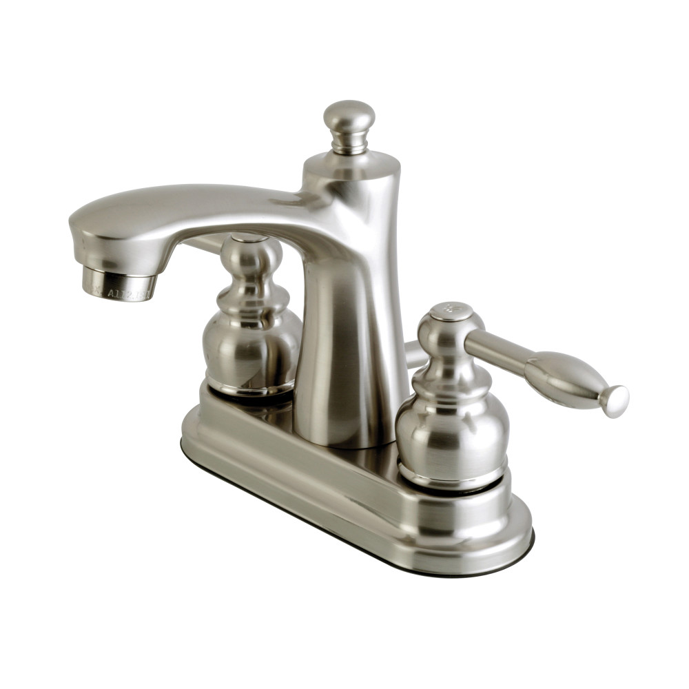 Kingston Brass Fb7628kl Knight 4 Inch Centerset Lavatory Faucet Satin Nickel Kingston Brass