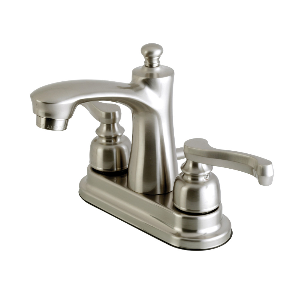 Kingston Brass Fb7628fl 4 Inch Centerset Lavatory Faucet Brushed Nickel Kingston Brass