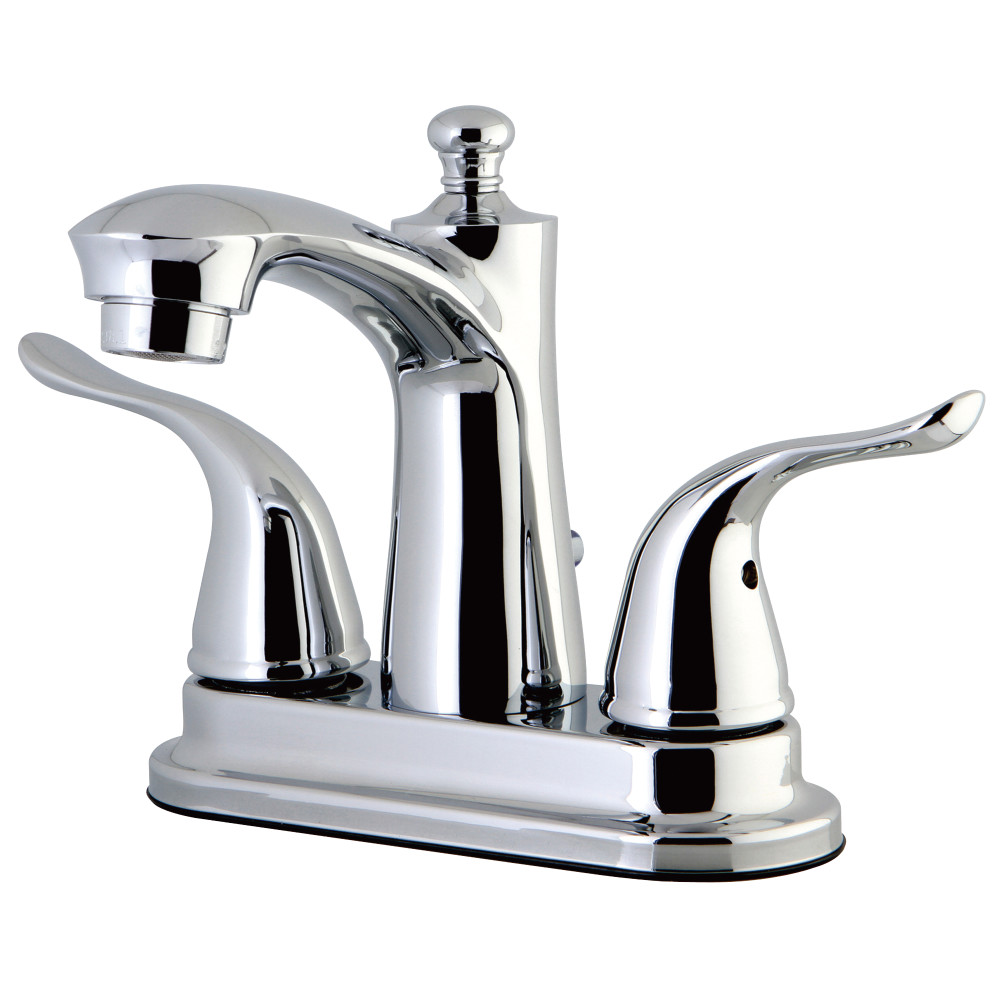 Kingston Brass Fb7621yl 4 Inch Centerset Lavatory Faucet Polished Chrome Kingston Brass