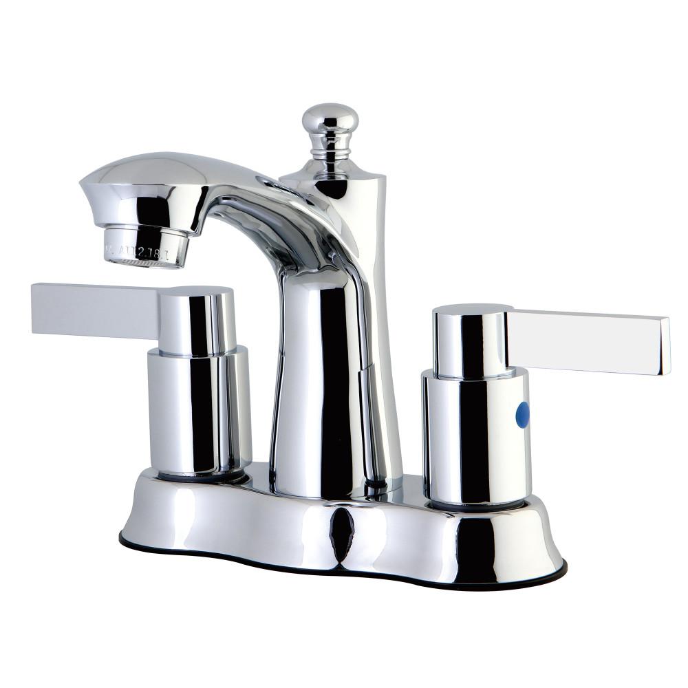Kingston Brass Fb7611ndl Nuvofusion 4 Inch Centerset Lavatory Faucet Chrome Kingston Brass