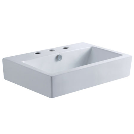 Fauceture EV4318W38 Century Vessel Sink, White