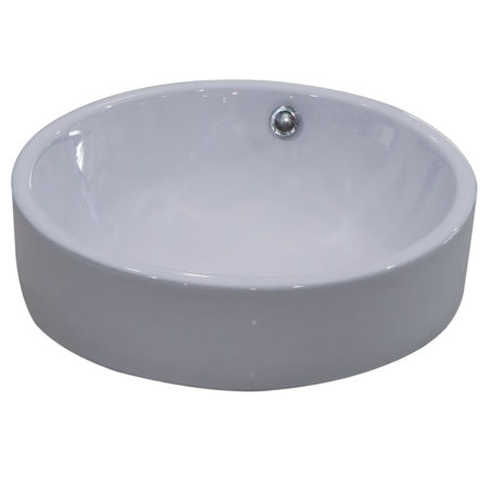 Fauceture EV4254 Zen Vessel Sink, White