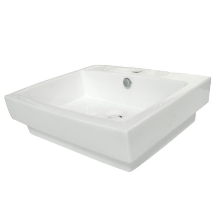 Fauceture EV4024 Plaza Vessel Sink, White
