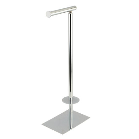 Kingston Brass CC8001 Claremont Freestanding Toilet Paper Stand, Polished Chrome