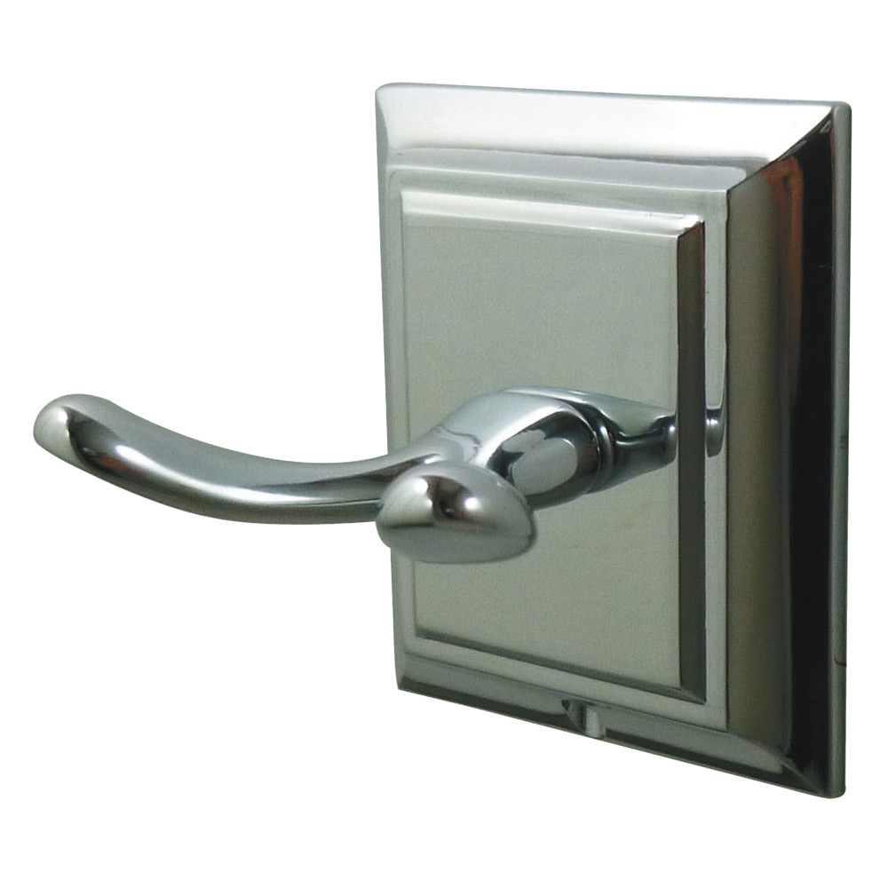 Kingston brass ba6017c millennium robe hook polished - Polished chrome bathroom accessories ...