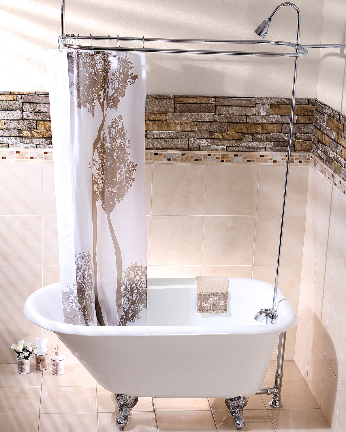 Choosing A Shower Curtain For Your Clawfoot Tub Kingston
