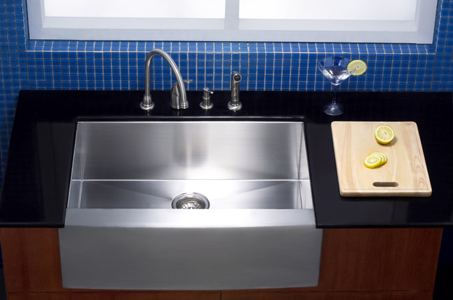 Where to put your farmhouse sink