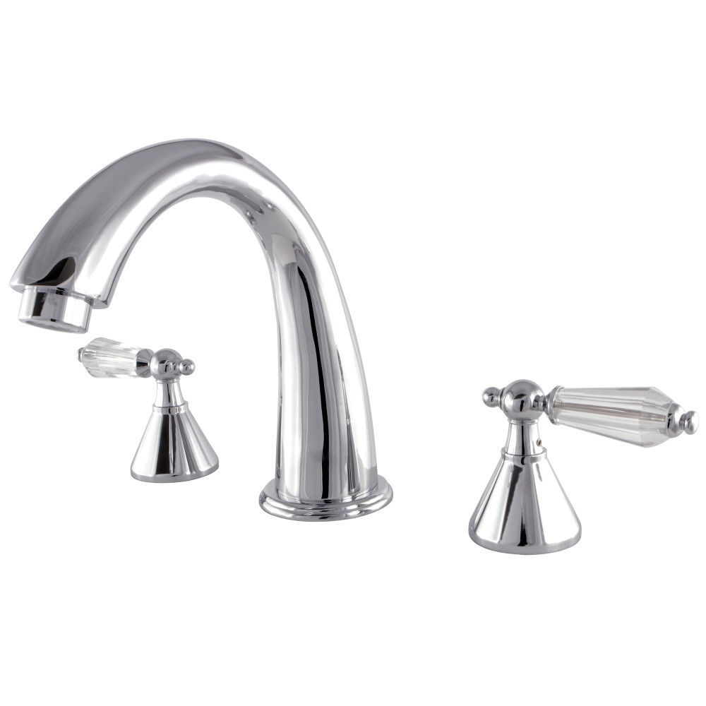 Kingston Brass KS2361WLL Roman Tub Filler Bath Tub Faucet Faucet ...