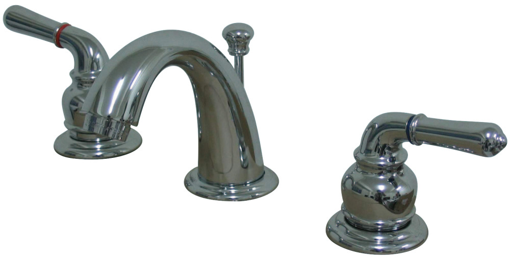Kingston Brass KB911 Magellan Mini Widespread Lavatory Faucet with ...