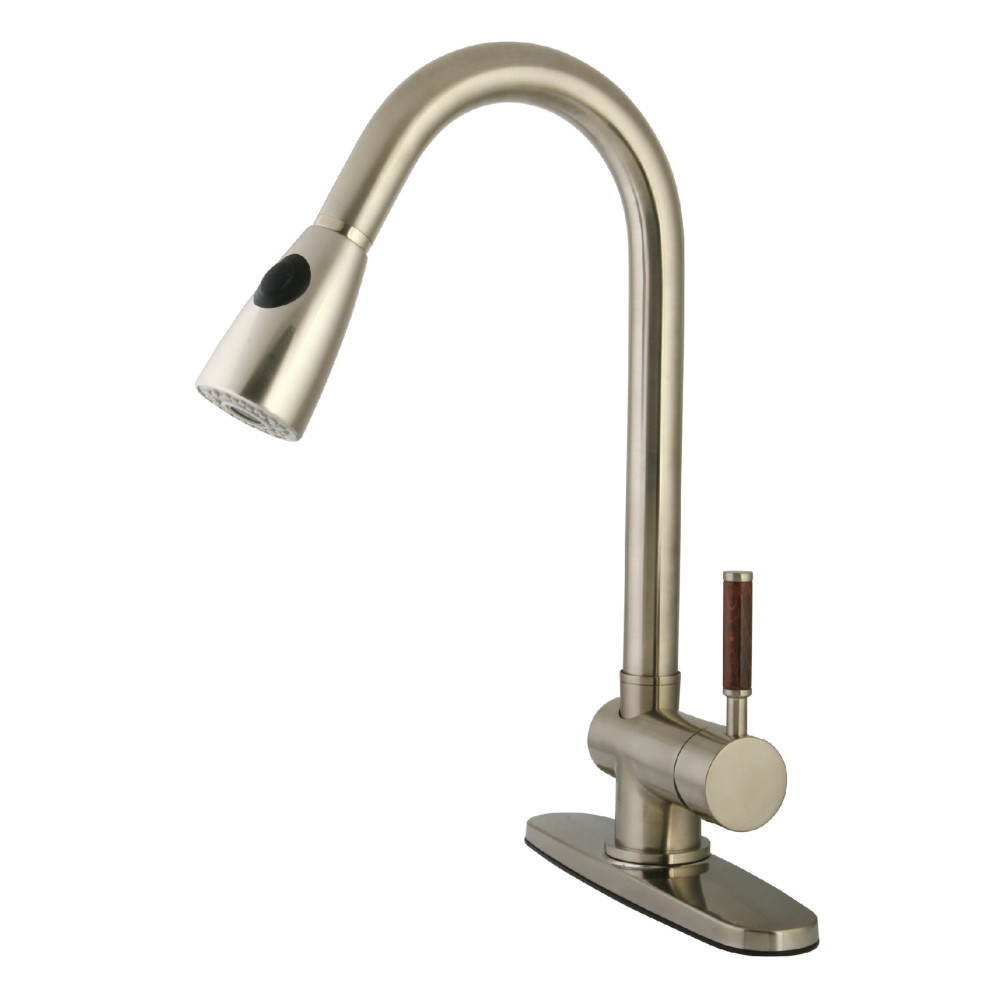 Gourmetier GS8898DWL Wilshire Single Handle Pull-Down Spray Kitchen ...