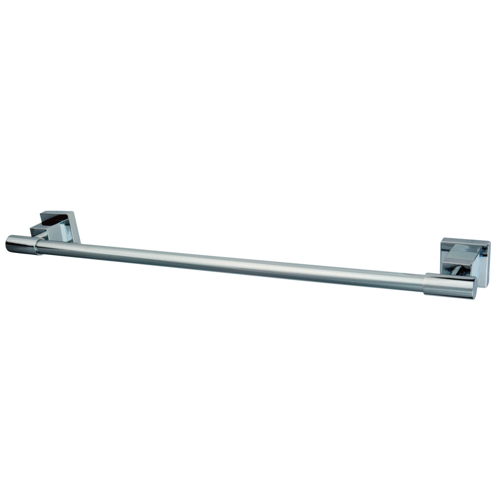 "Kingston Brass BAH8641C 24"" Towel Bar, Polished Chrome"