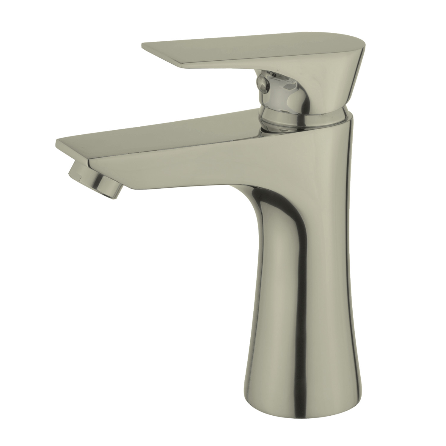 Kingston Brass LS4228XL Single-Handle Lavatory Faucet, Brushed ...