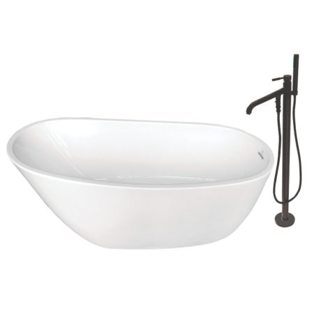 Freestanding Tub With Faucet Holes. Kingston Brass KTRS592928A5 Freestanding Tub Faucets  Fillers
