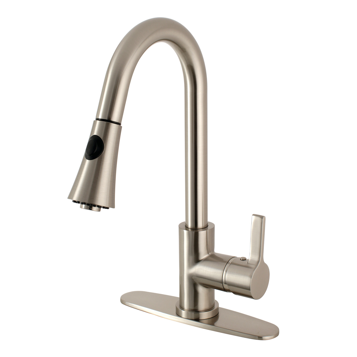 Gourmetier LS8728CTL Continental Kitchen Faucet with Pull-Down ...