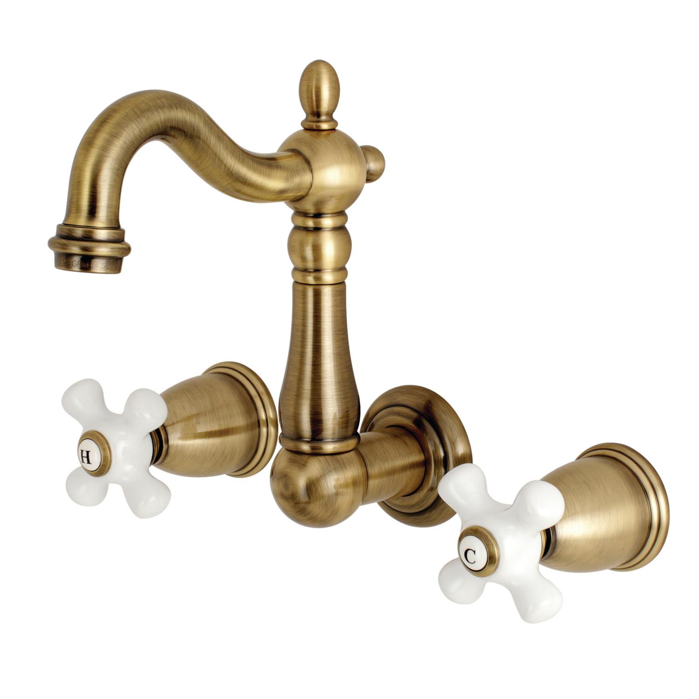 Kingston brass ks1223px wall mount vessel sink faucet Kingston brass bathroom faucet installation
