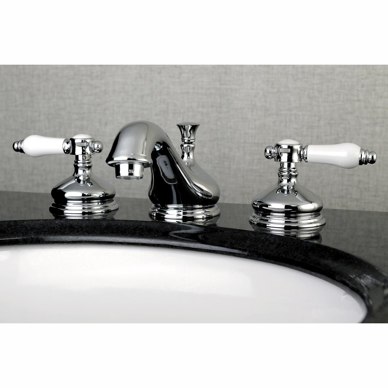 Kingston Brass Ks1161bpl 8 Inch Widespread Lavatory Faucet