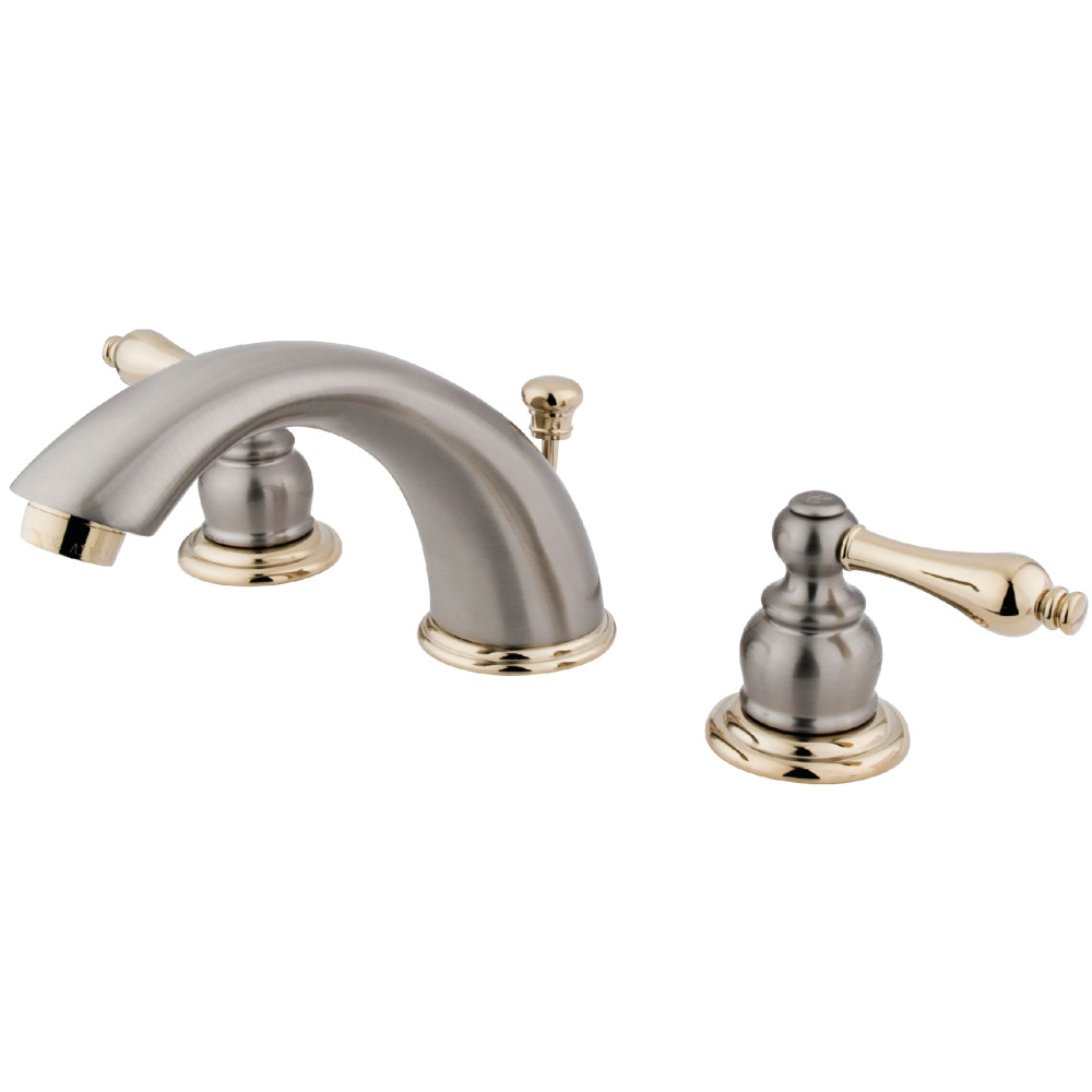 Kingston Brass KB979AL Victorian Widespread Lavatory Faucet with ...