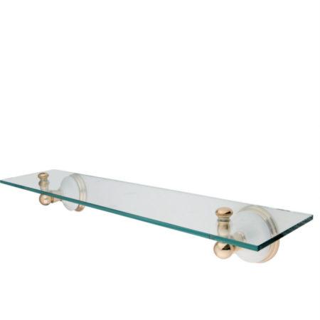 Bathroom Shelves - Glass Shelving - Vanity Shelf   Kingston Brass