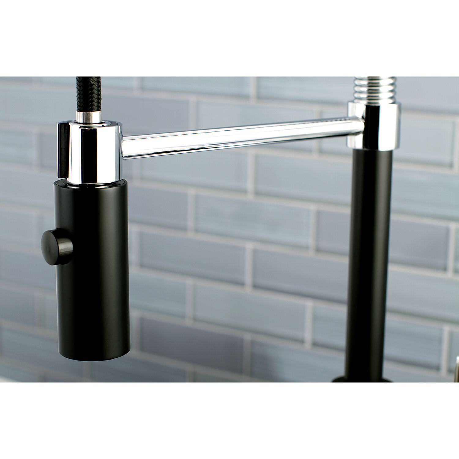 Faucetaire LS8777CTL Continental Kitchen Faucet with Pull-Down ...