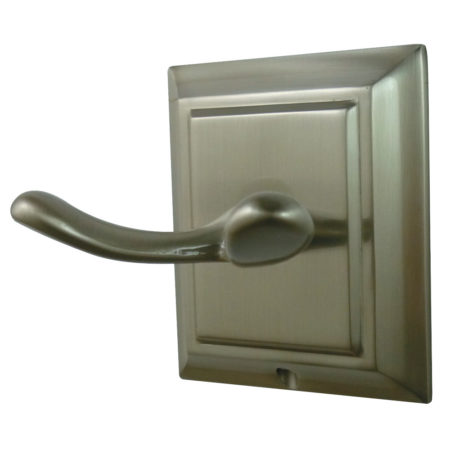 Kingston Brass BA6017SN Millennium Robe Hook, Brushed Nickel