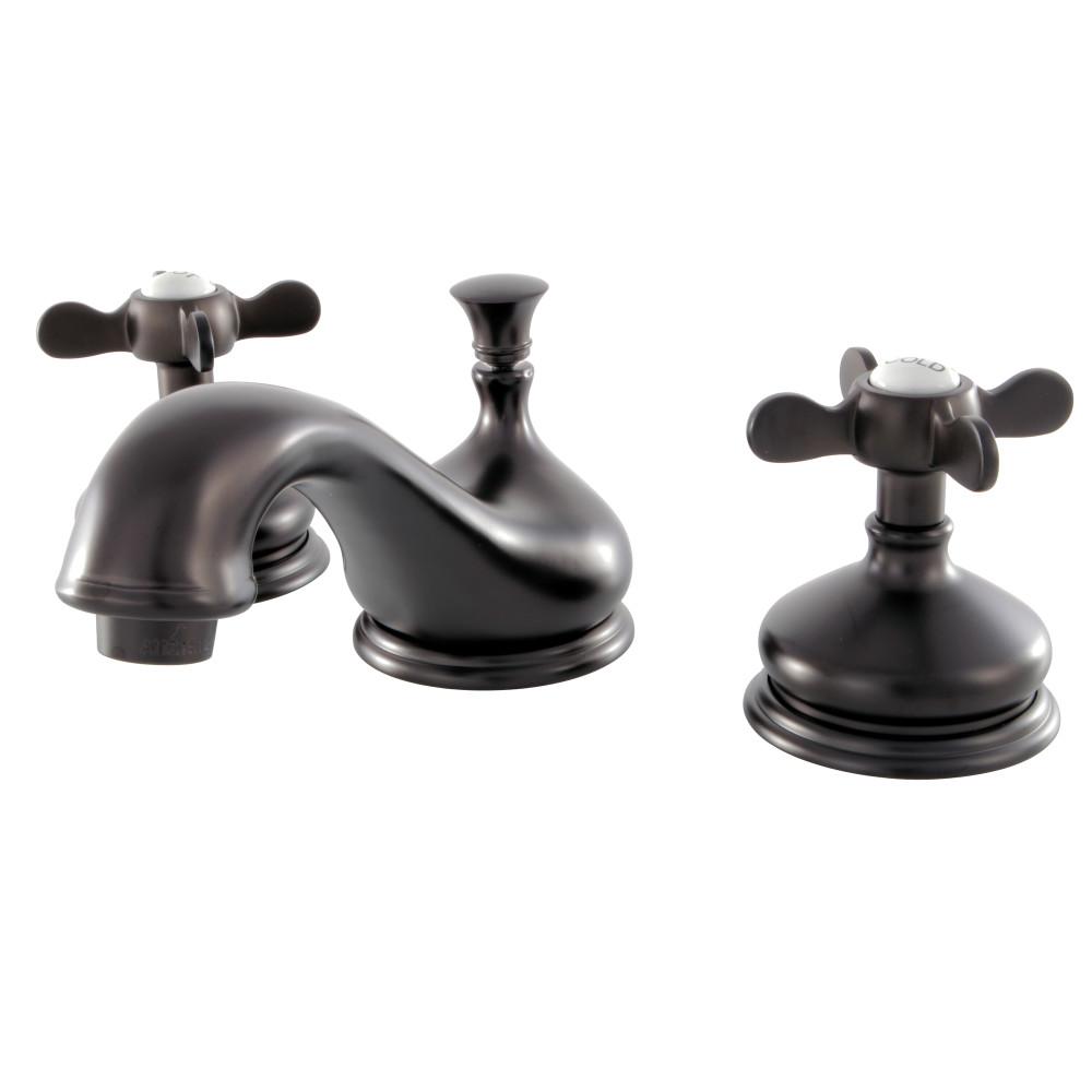 Kingston Brass KS1165BEX 8-Inch Widespread Lavatory Faucet, Oil ...