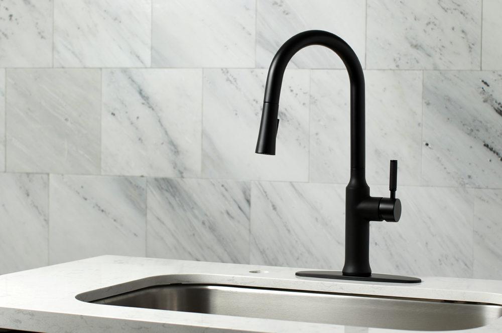 ADA Compliant, Faucet, Gourmetier, Kitchen Faucets, Matte Black Faucet